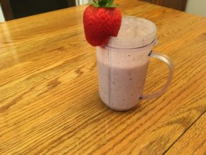 My Hunger Crushing Ketogenic Berry Smoothie
