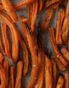 Picture of sweet potato fries.